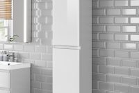 1400mm Denver Tall White Bathroom Cabinet Wall Hung Soak regarding size 2000 X 2000