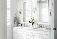 15 Beautiful Small White Bathroom Remodel Ideas Home Sweet Home intended for dimensions 736 X 1103
