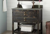 36 Benoist Reclaimed Wood Vessel Sink Console Vanity Antique pertaining to sizing 1500 X 1500