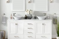 72 Modero Double Vessel Sink Vanity White Bathroom in size 1500 X 1500