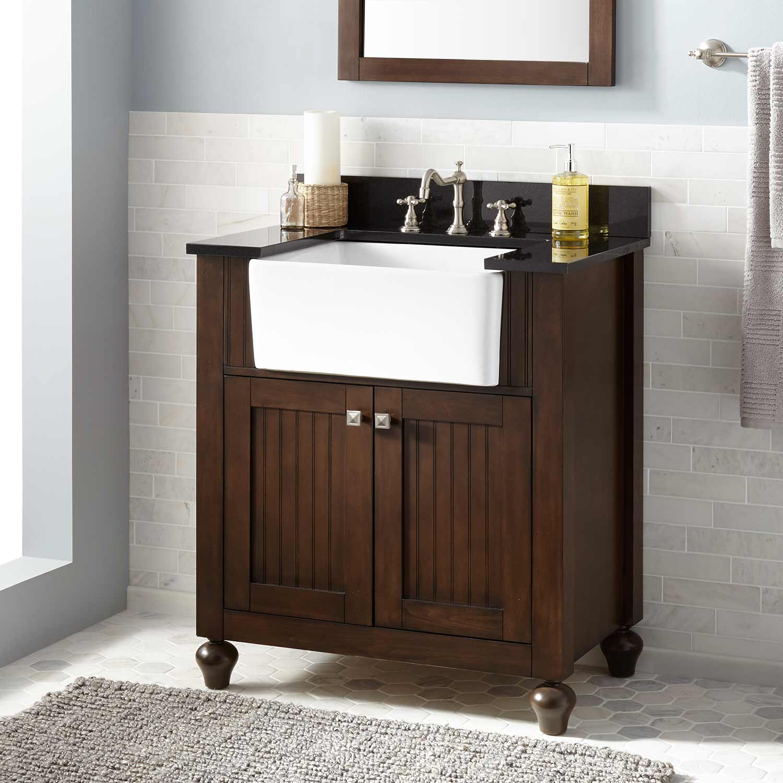 Antique Style Bathroom Vanity Signature Hardware pertaining to measurements 1500 X 1500