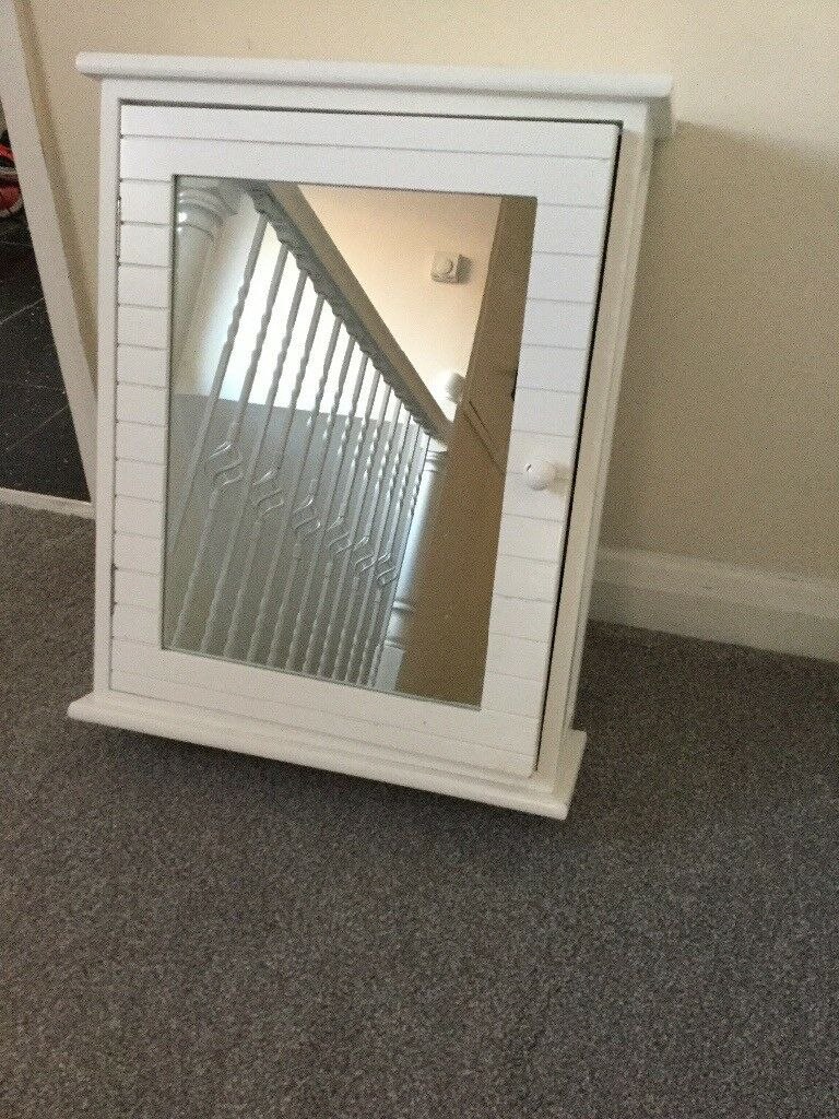 Bathroom Cabinet Dunelm Mill Mirrored Door Shelf Within In Preston intended for measurements 768 X 1024