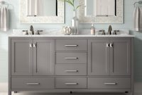 Beachcrest Home Newtown 72 Double Bathroom Vanity Set Reviews with regard to proportions 2000 X 2000