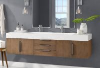 Brayden Studio Hukill 72 Wall Mounted Double Bathroom Vanity Set throughout dimensions 2000 X 2000