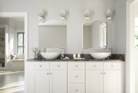 Brilliant White Shaker Ready To Assemble Bathroom Vanities throughout dimensions 1200 X 1114
