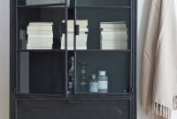 Cabinet Steel Storage Soft Plaids Metal Glass Bepurehome with regard to proportions 3713 X 5570