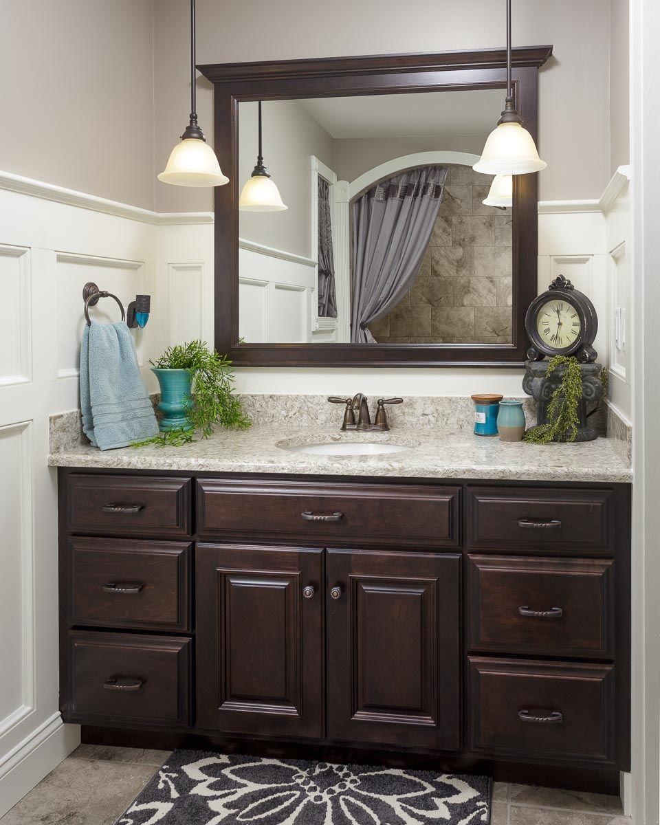 Dark Wood Bathroom Vanity Bathroom Ideas In 2019 Bathroom Sink regarding sizing 960 X 1200