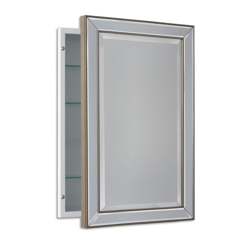 Deco Mirror 16 In W X 26 In H X 5 In D Framed Single Door inside measurements 1000 X 1000