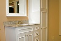 For Small Bathroom Cabinets Floor To Ceiling At End Of Sink intended for proportions 736 X 1101