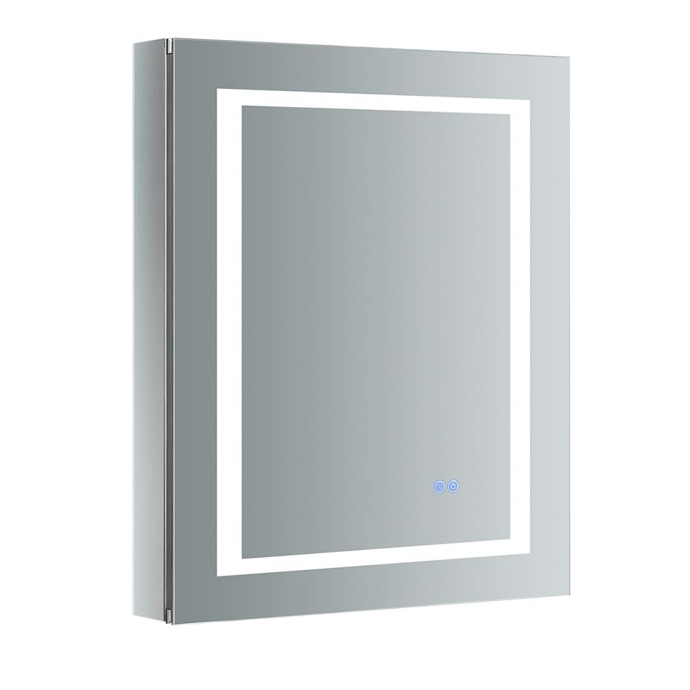 Fresca Spazio 24 In W X 30 In H Recessed Or Surface Mount Medicine for measurements 1000 X 1000
