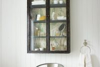 Glass Fronted Wall Cabinet From Graham And Green Bath intended for dimensions 1000 X 1276