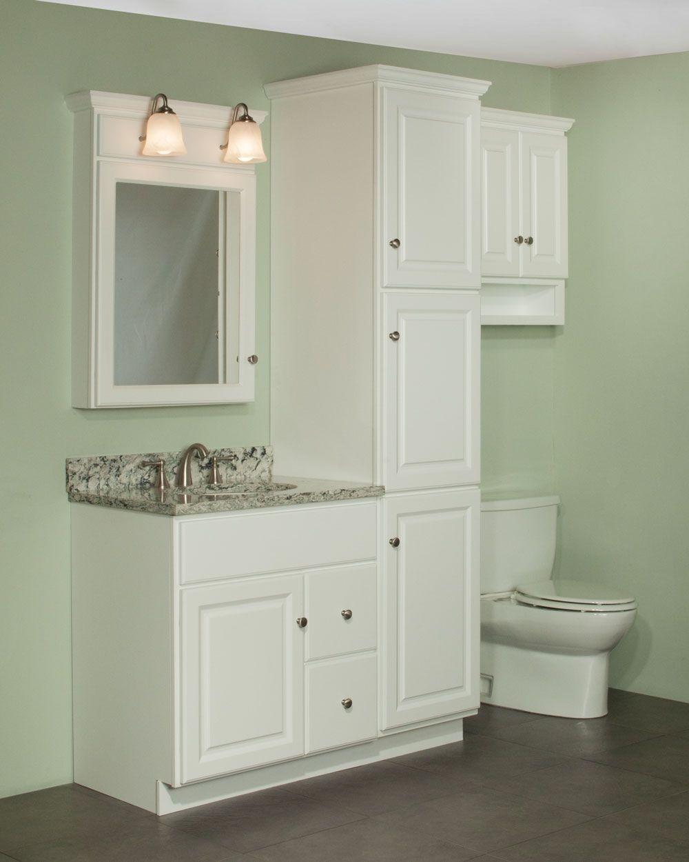 Miraculous Bathroom Vanities With Matching Linen Cabinets Of Home regarding proportions 1000 X 1250