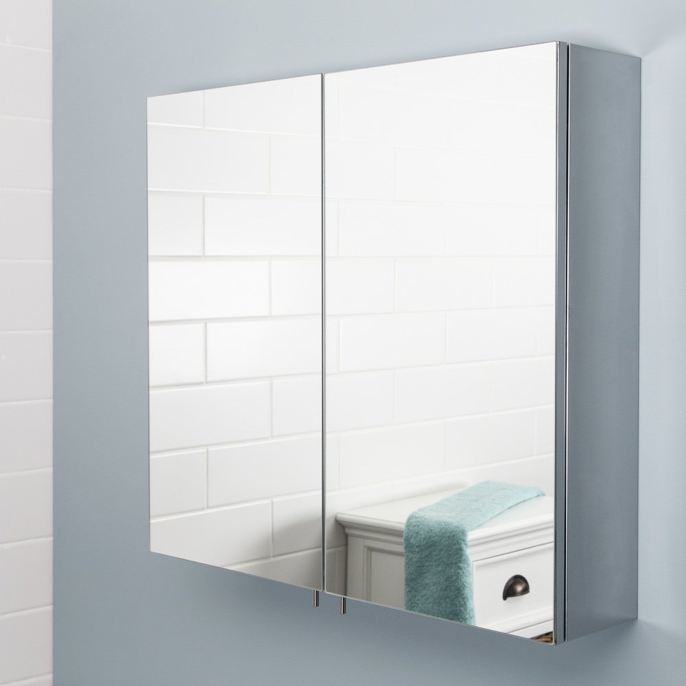 Mirror Bathroom Cabinets Plumbworld inside dimensions 1000 X 1000