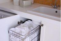 Pull Out Laundry Baskets Kitchen Espacio Disenos De Unas inside proportions 845 X 1187