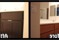 Refacing Bathroom Cabinets Before After Kitchen Cabinet Refacing throughout sizing 1600 X 561