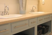 Remove The Doors And Repaint An Old Bathroom Vanity For An Updated with sizing 1200 X 1600