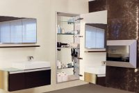 Sidler Tall Collection Full Length Mirror With Storage pertaining to size 1440 X 960
