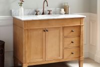 Solid Wood Vanity Signature Hardware within measurements 1500 X 1500