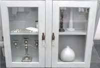 Tall Bathroom Cabinet With Glass Doors Creative Cabinets Glass Wall throughout sizing 1024 X 768