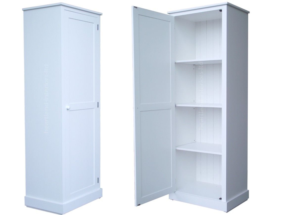 Tall Pantry Cabinet With Solid Wood Cupboardcm Tall White Painted within dimensions 1160 X 870