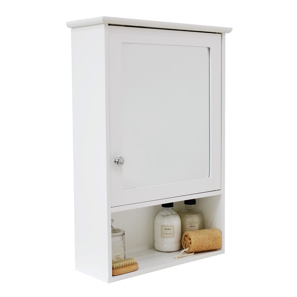 Tongue Groove Single Mirrored Bathroom Cabinet House Homestyle throughout proportions 1000 X 1000