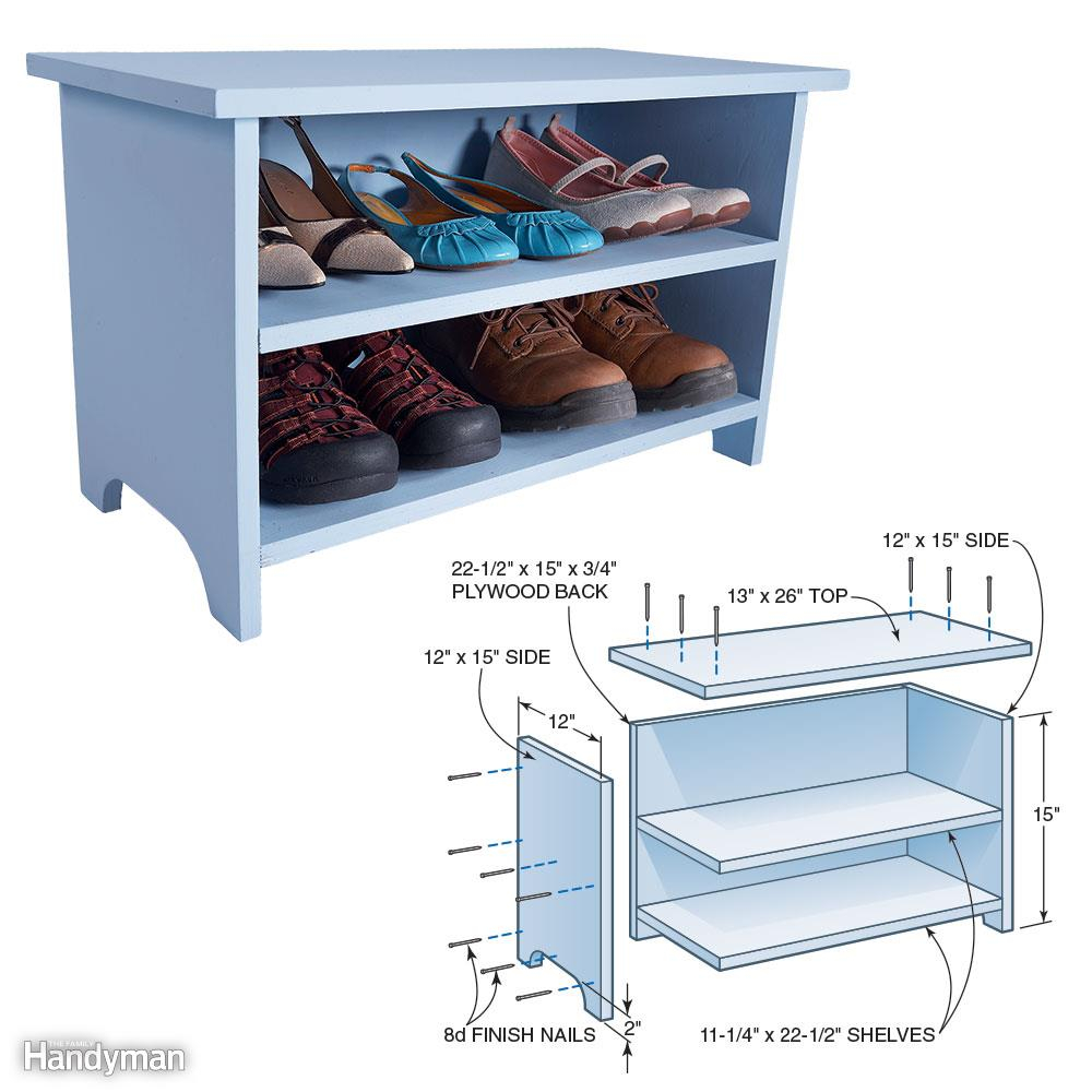 12 Simple Storage Solutions For Small Spaces The Family Handyman intended for size 1000 X 1000