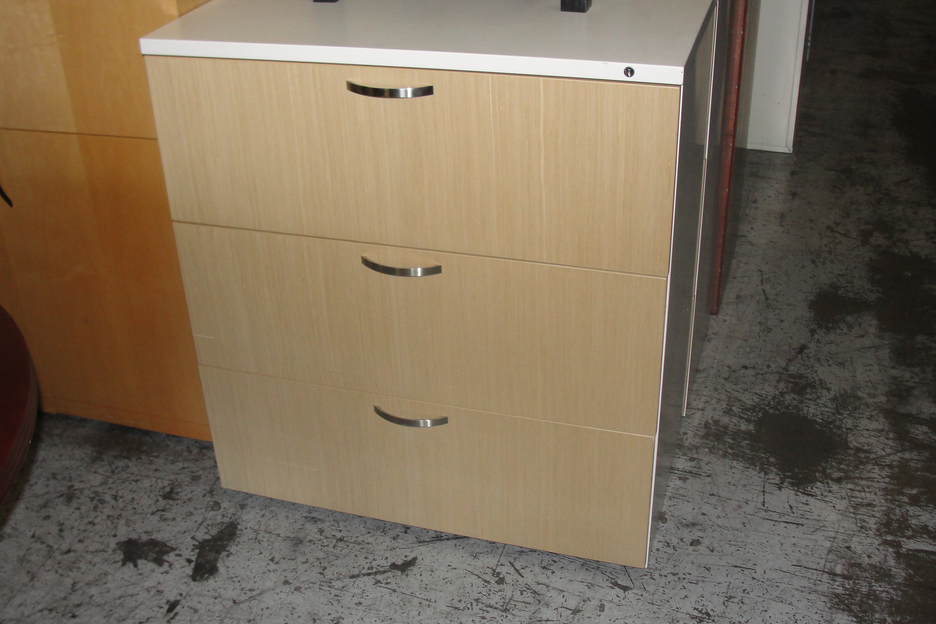 3 Drawer Office Furniture In Los Angeles And Orange County within proportions 3648 X 2432