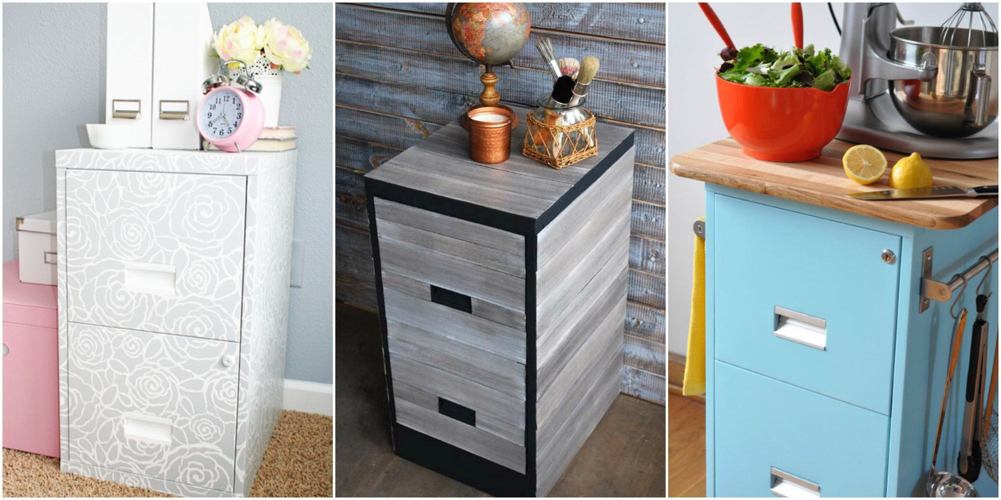 9 Filing Cabinet Makeovers New Uses For Filing Cabinets intended for size 2000 X 1000