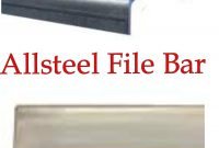 Allsteel File Bars For Lateral File Cabinets Oldstyle New Style throughout sizing 2591 X 3556