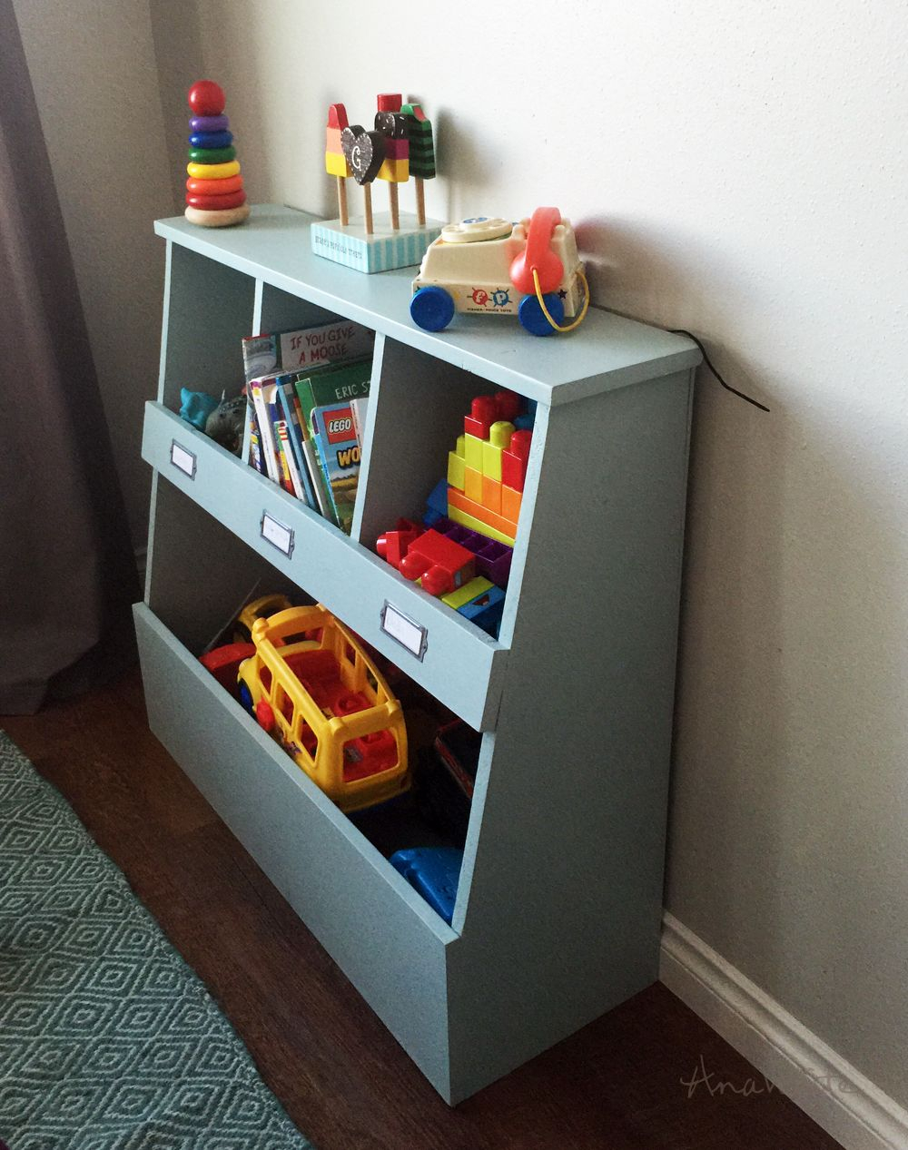 Ana White Build A Toy Storage Bin Box With Cub Shelves Free regarding proportions 1000 X 1267