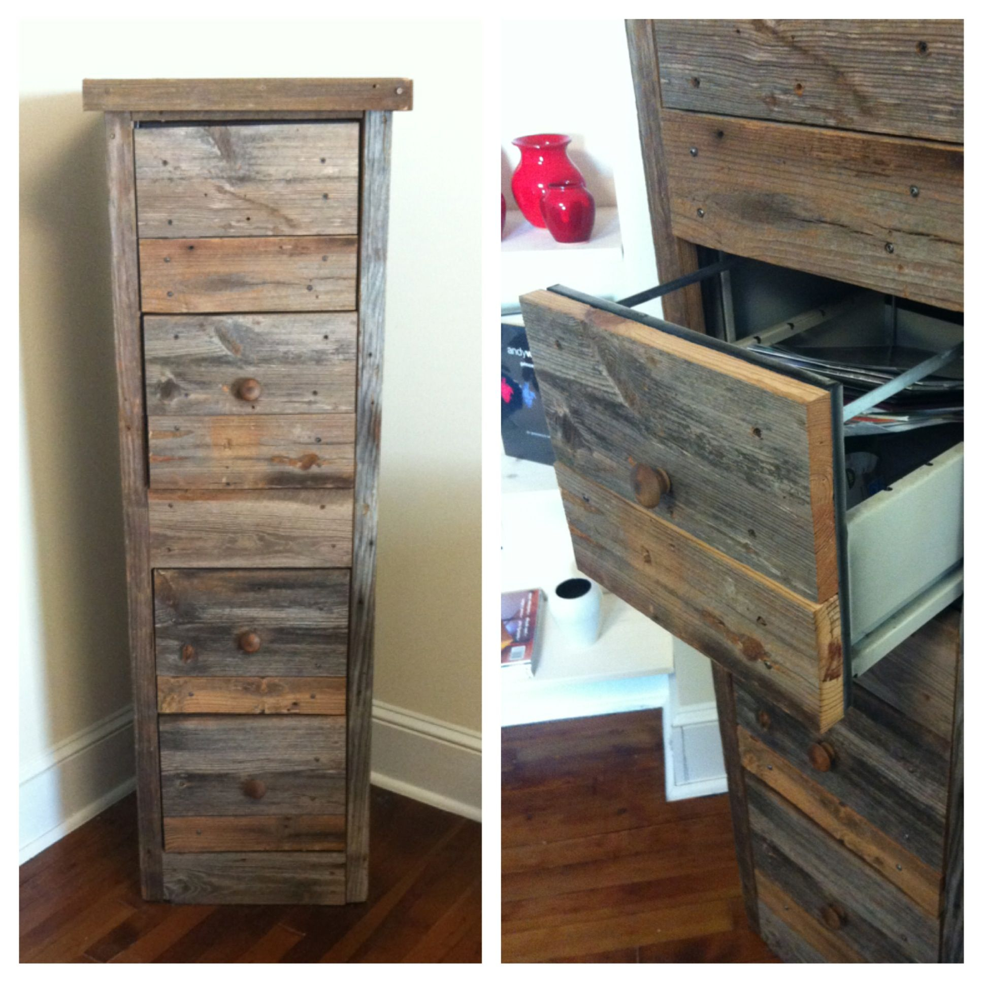 Awesome Way To Make An Old File Cabinet Looking Rustic And Amazing with size 1936 X 1936