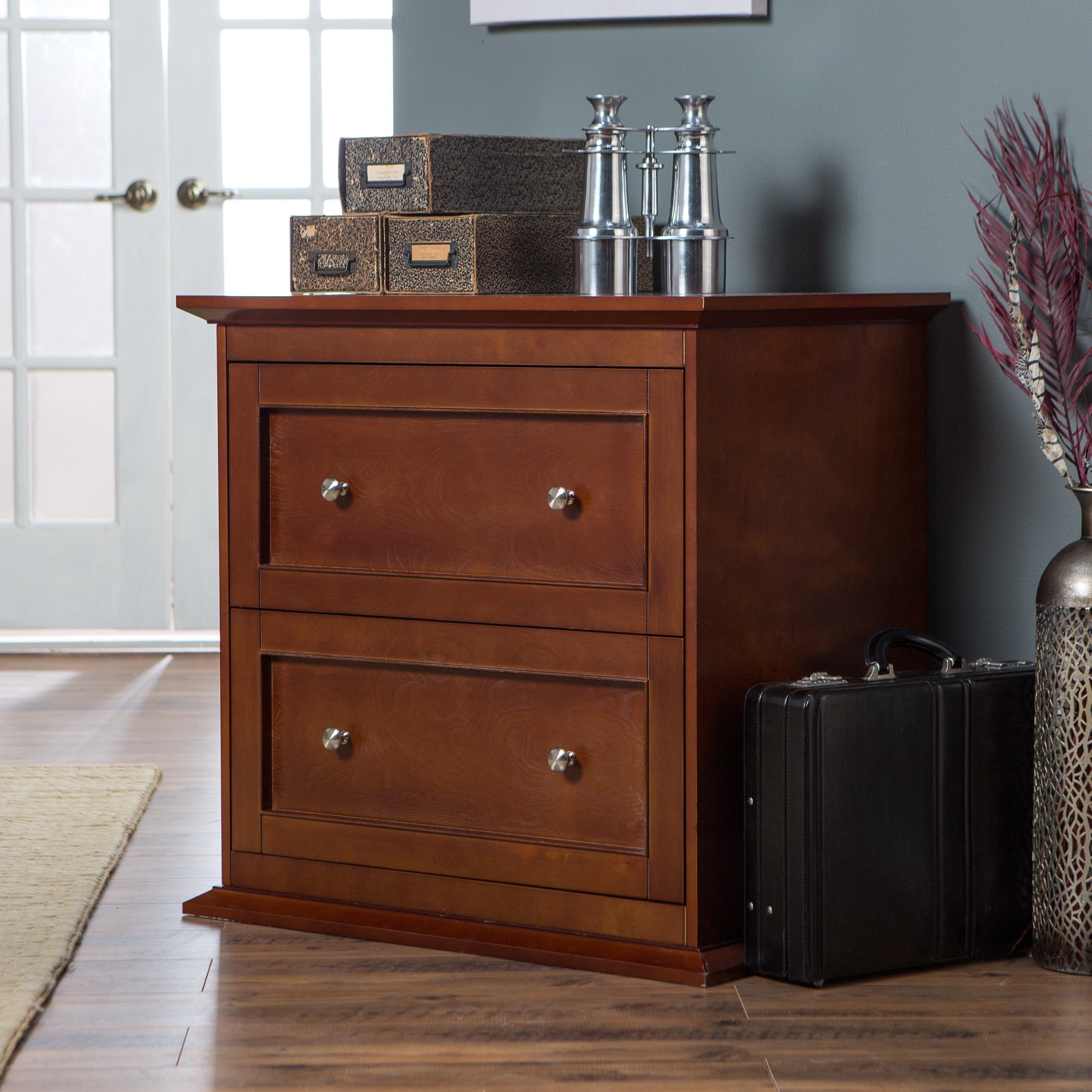 Belham Living Hampton 2 Drawer Lateral Wood Filing Cabinet Heavy in measurements 3200 X 3200