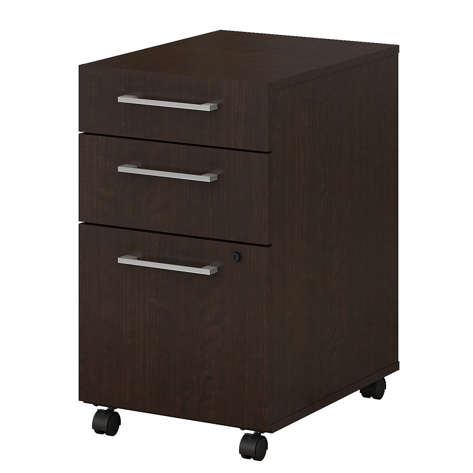 Bush Business Furniture 400 Series 3 Drawer Mobile File Cabinet regarding size 1600 X 1600