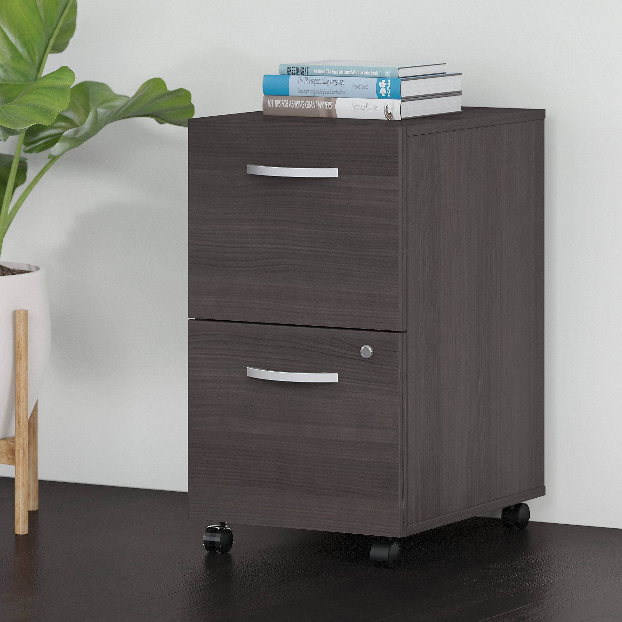 Bush Business Furniture Studio C 2 Drawer Mobile Vertical Filing with regard to proportions 2000 X 2000