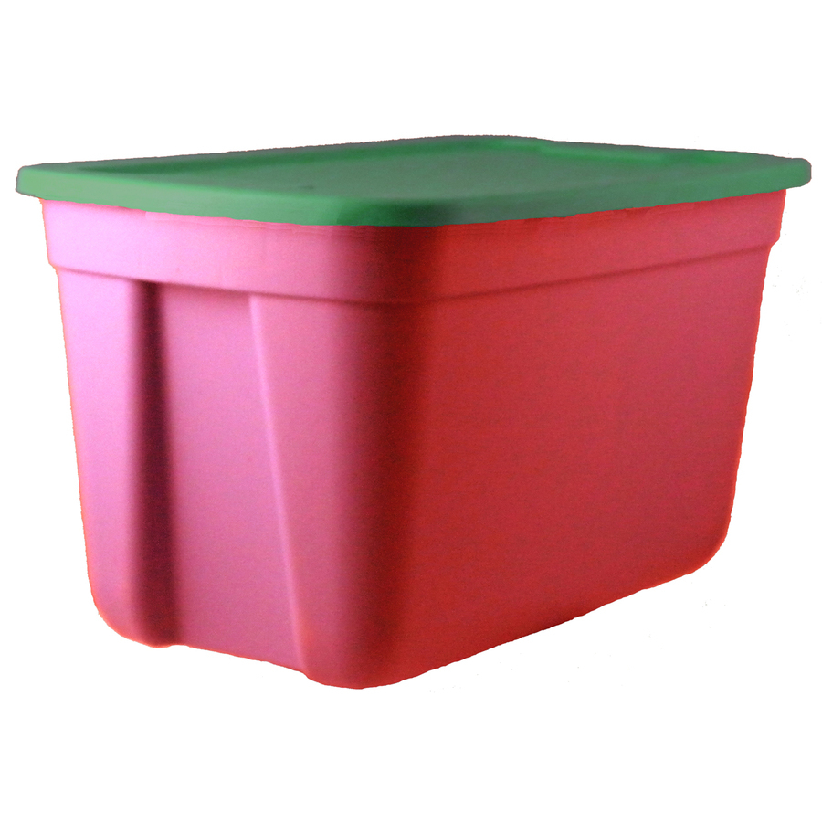 Centrex 30 Gallon 120 Quart Holiday Tote With Standard Snap Lid At throughout dimensions 900 X 900