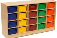 Childrens Storage Unit Jonti Craft 20 Cubbies W Multi Color Bins inside size 1200 X 888