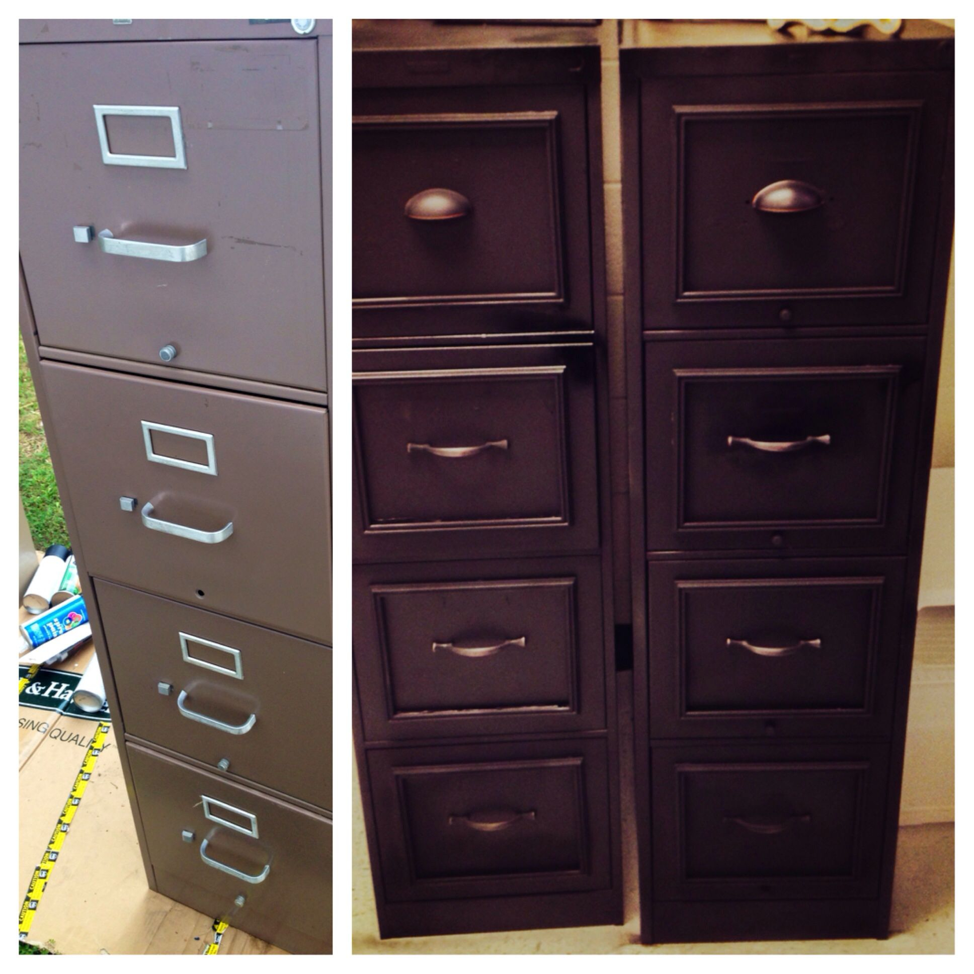 Diy File Cabinet Makeover For My Classroom I Took Off The Old inside measurements 1936 X 1936