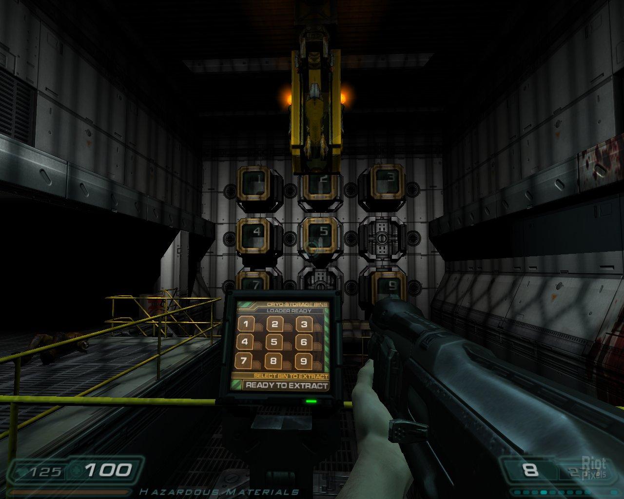 Doom 3 Cryo Storage Bins • Cabinet Ideas