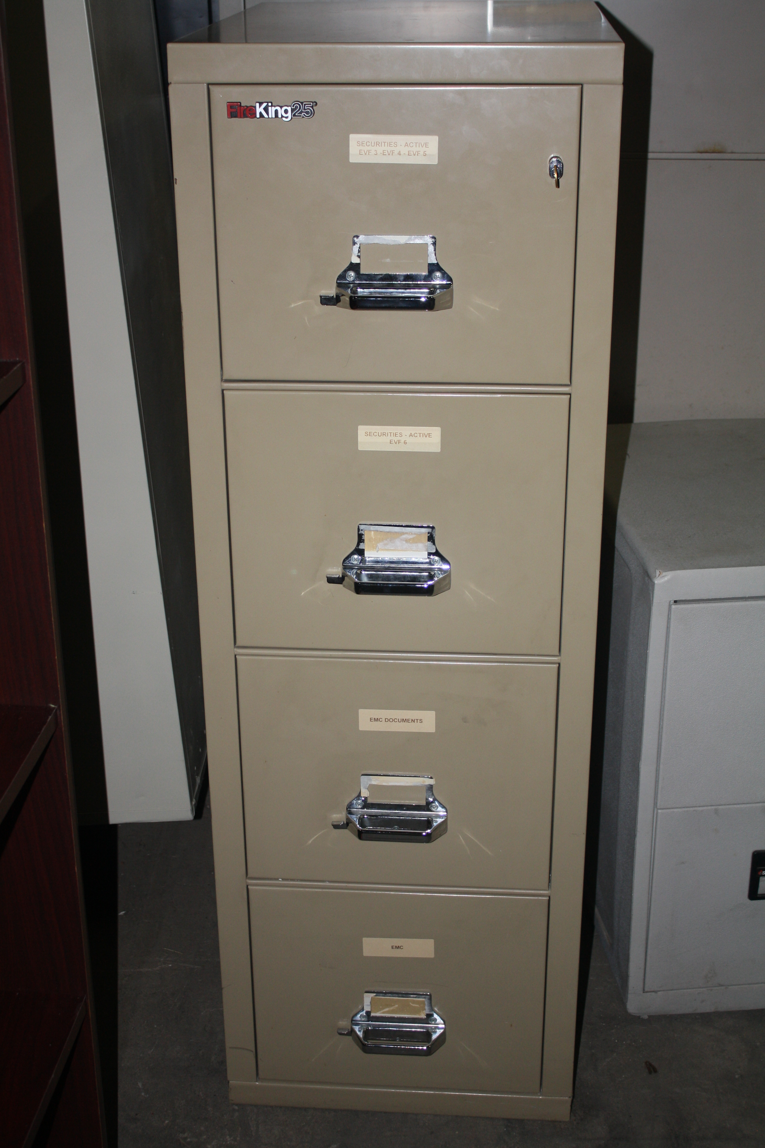 Fireking 25 Deep Vertical File Cabinets Office Filing Cabinets for size 2592 X 3888