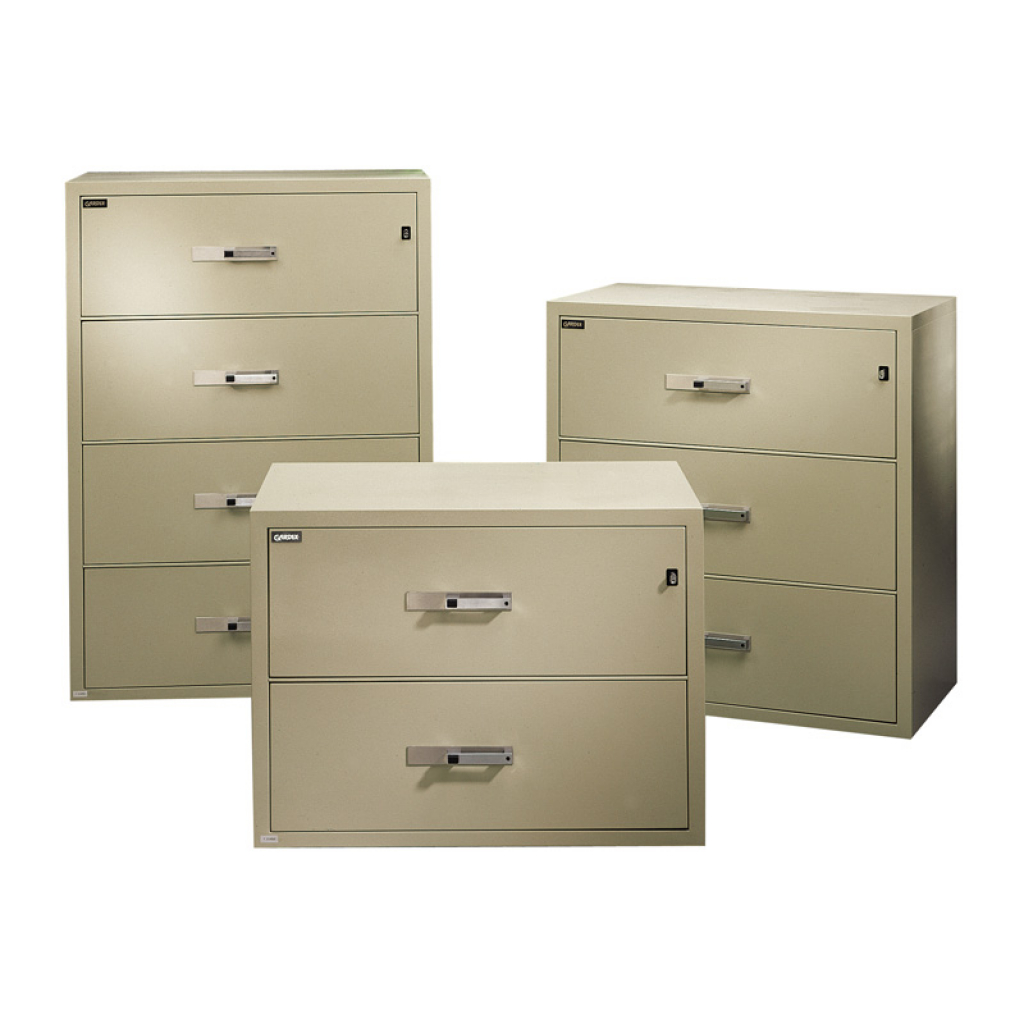 Gardex 2 Drawer Fire Resistant Lateral File Cabinet Atwork Office for proportions 1024 X 1024