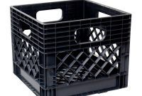 Gsc Technologies 11 In X 13 In X 13 In Black Milk Crate Mc131311 with sizing 1000 X 1000
