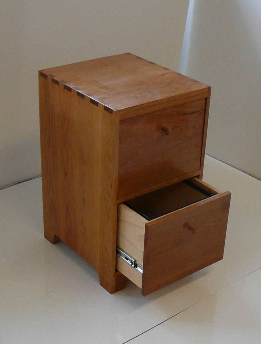 Handmade Cherry File Cabinet Mdp Fischer Custommade inside dimensions 913 X 1200