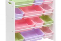 Honey Can Do Kids Toy Organizer With 12 Storage Bins Multicolor throughout sizing 1500 X 1500