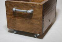 Industrial Storage Box On Wheels Wood Storage Bin On Casters with measurements 1000 X 1500