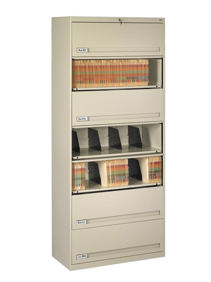 Lockable Medical File Cabinets With Retractable Doors 7 Shelf with dimensions 800 X 1066