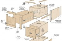 Modular File Cabinets Woodworking Project Woodsmith Plans intended for size 910 X 892