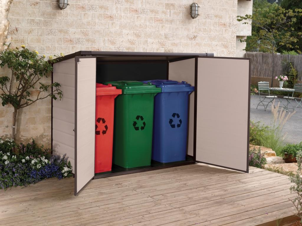 Outdoor Storage For Everything Including The Wheelie Bin Landera throughout size 1024 X 768