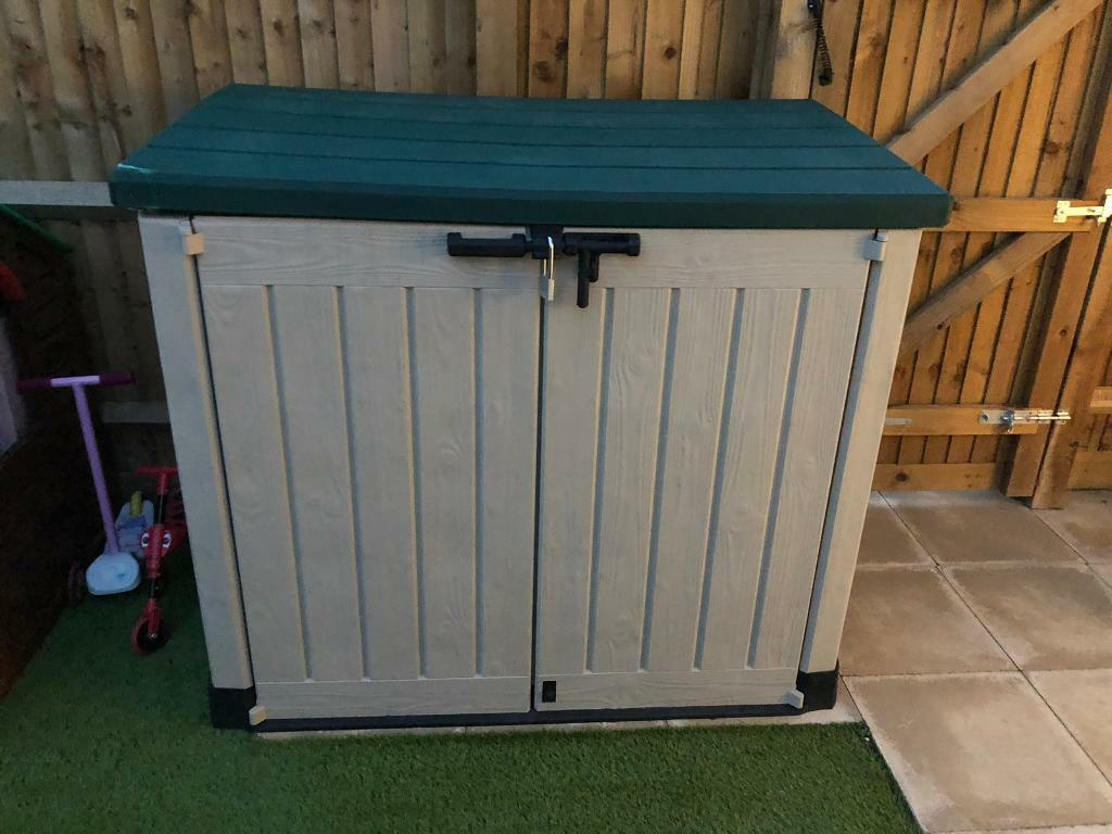 Outside Storage Box In Colchester Essex Gumtree inside dimensions 1024 X 768