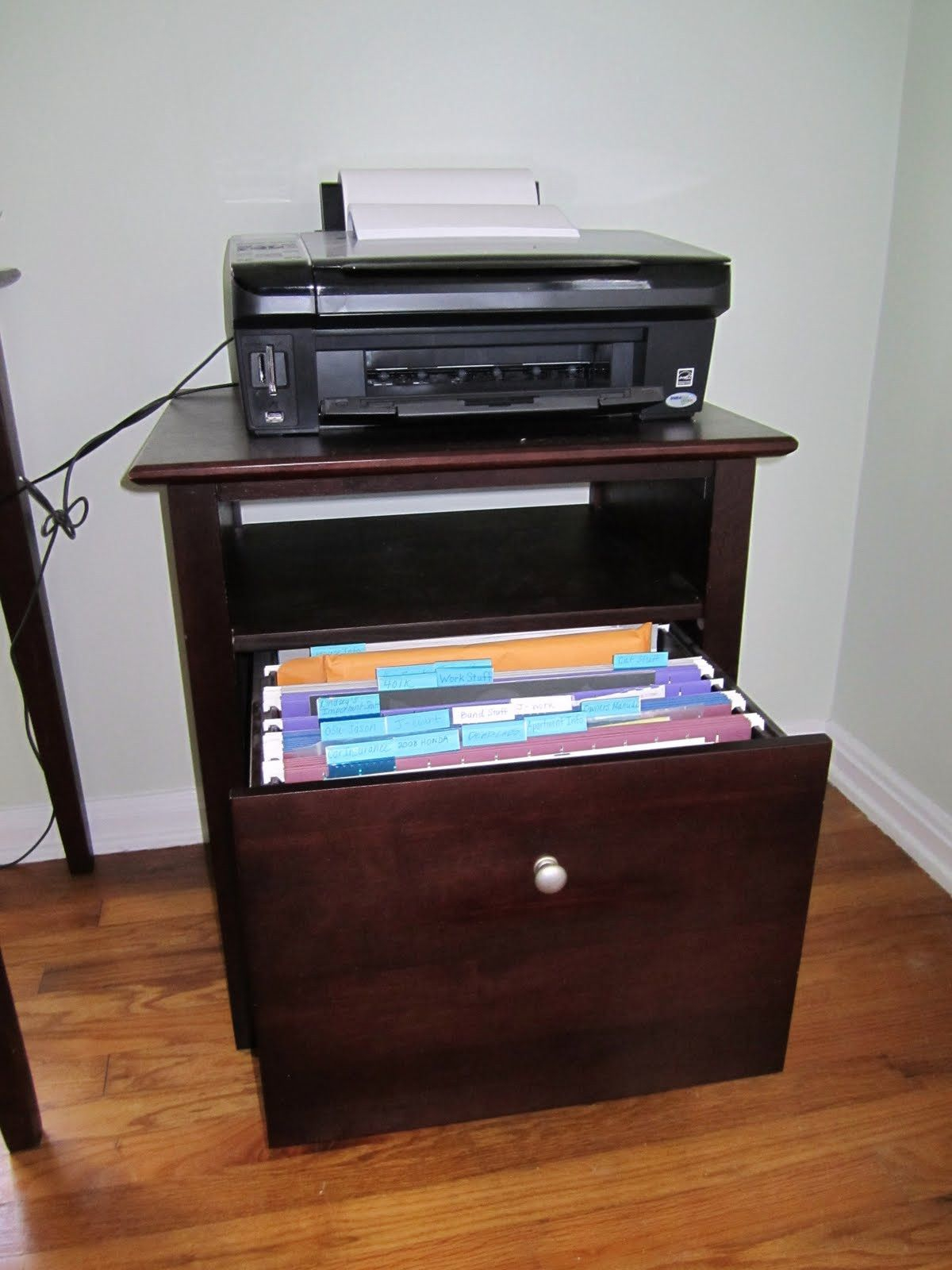 Printer Stand File Cabinet Sbiroregon with regard to size 1200 X 1600