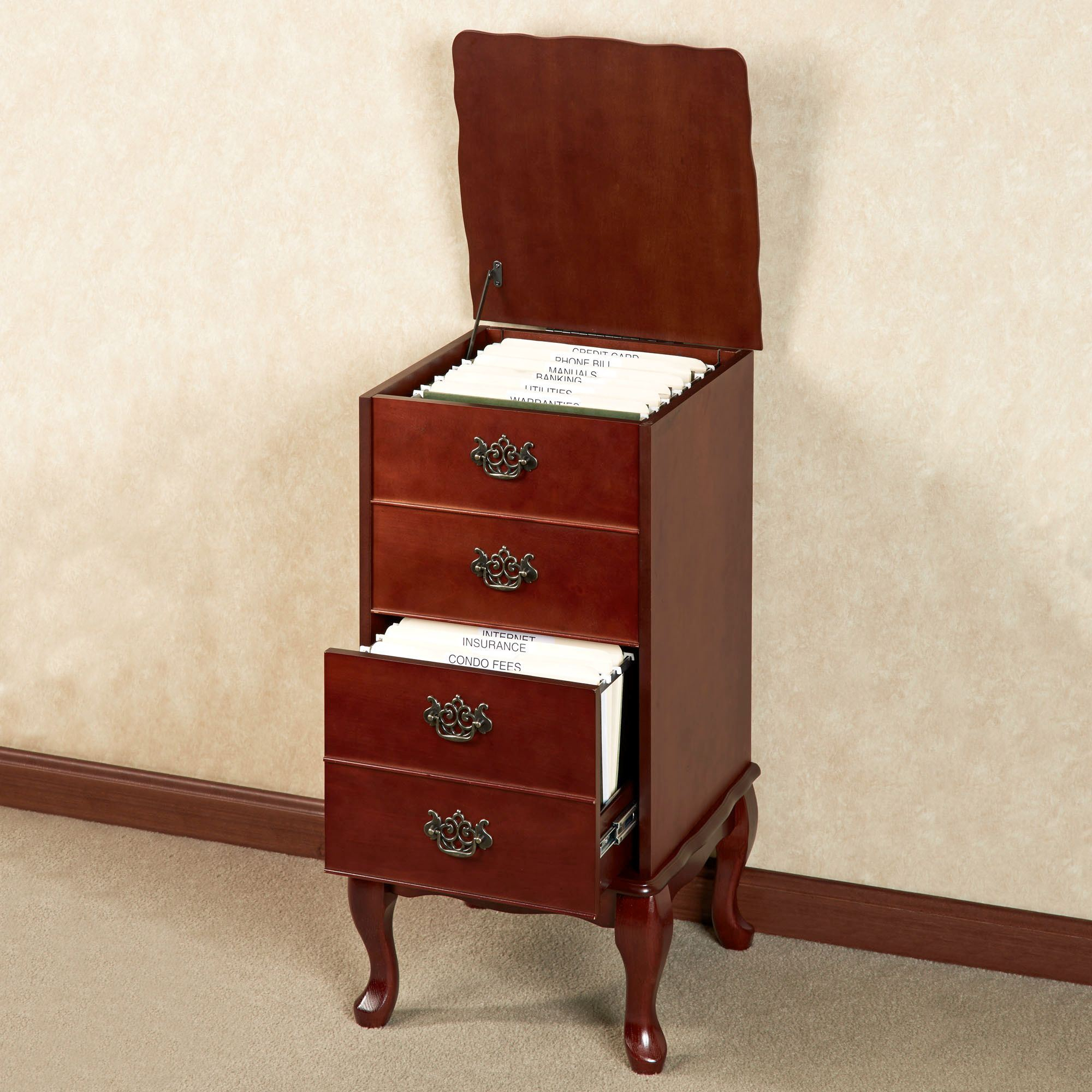 Queen Anne Filing Cabinet throughout dimensions 2000 X 2000